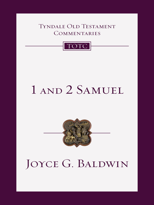 Title details for 1 and 2 Samuel by Joyce G. Baldwin - Available