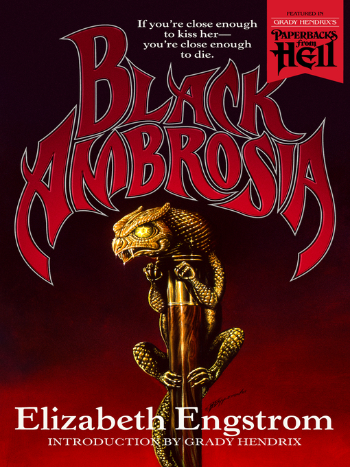 Title details for Black Ambrosia by Elizabeth Engstrom - Available