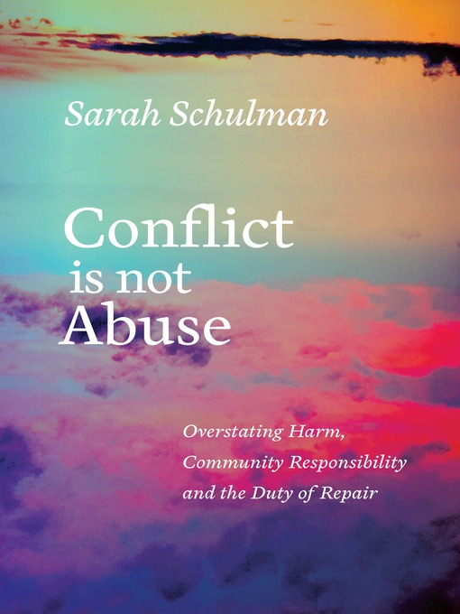 Cover of Conflict Is Not Abuse