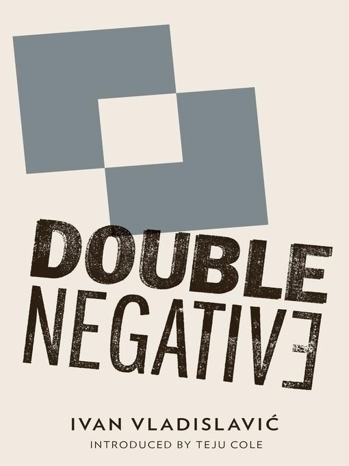 Title details for Double Negative by Ivan Vladislavic - Wait list