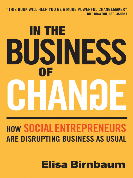 Title details for In the Business of Change by Elisa Birnbaum - Available