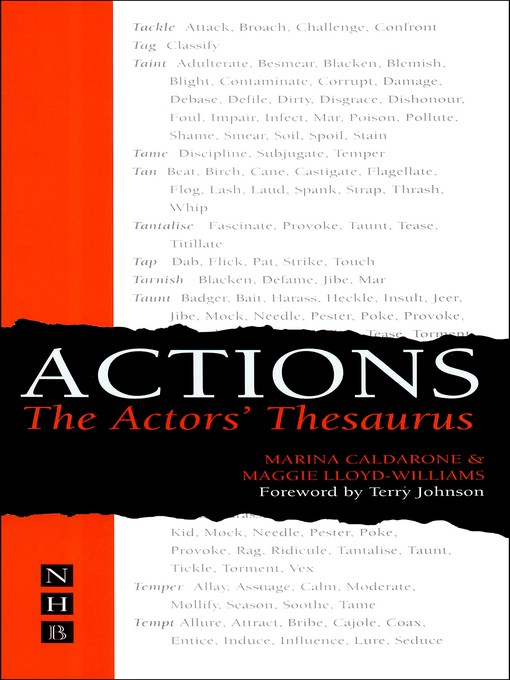 Title details for Actions by Marina Caldarone - Wait list