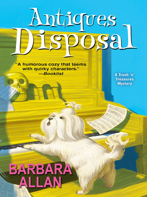 Title details for Antiques Disposal by Barbara Allan - Available