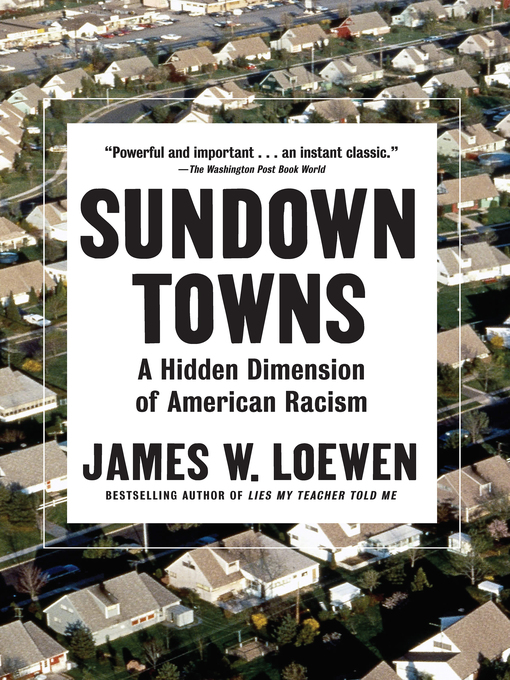 Cover of Sundown Towns