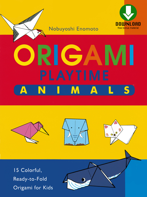 Cover of Origami Playtime Book 1 Animals