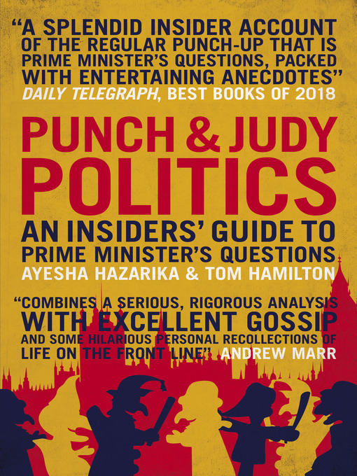 Cover of Punch and Judy Politics