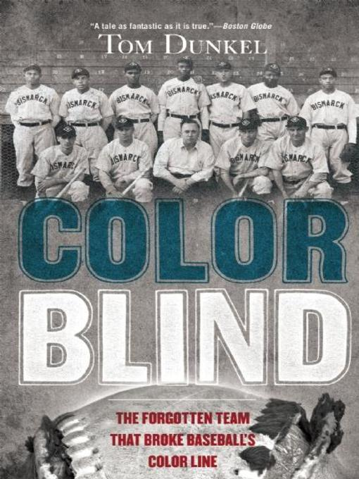 Title details for Color Blind by Tom Dunkel - Available