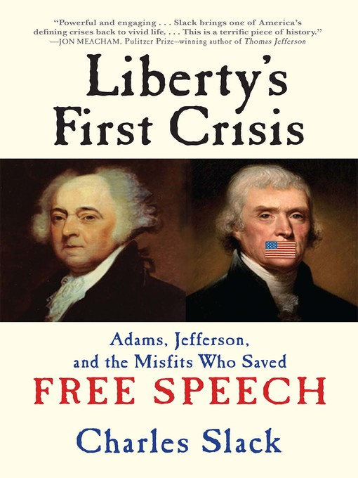 Title details for Liberty's First Crisis by Charles Slack - Wait list