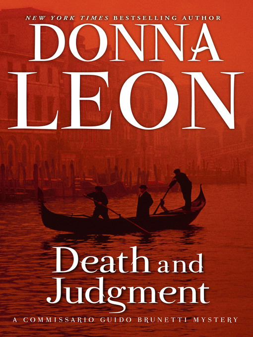 Title details for Death and Judgment by Donna Leon - Wait list