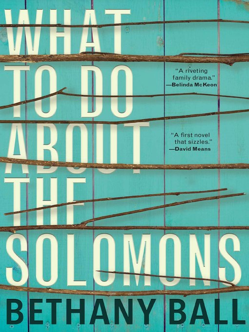 Cover of What to Do About the Solomons