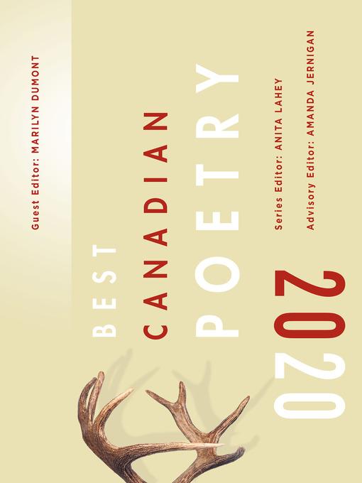 Best Canadian Poetry, 2020