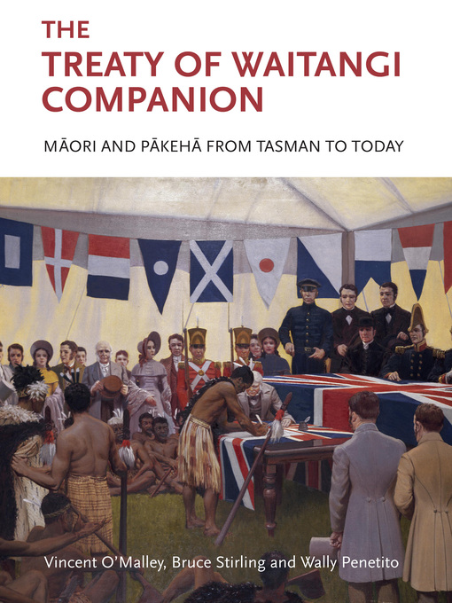 Title details for The Treaty of Waitangi Companion by Vincent O'Malley - Wait list