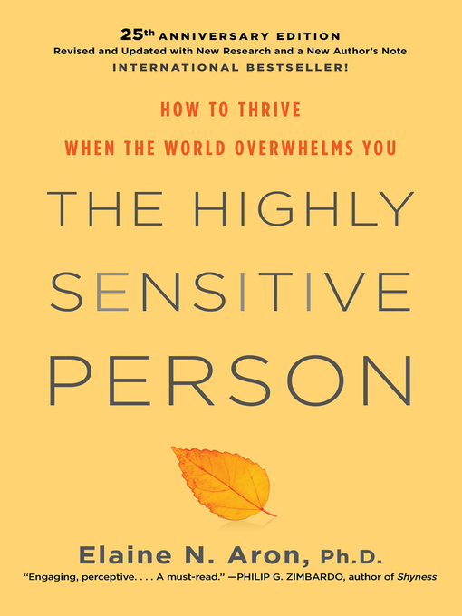 Title details for The Highly Sensitive Person by Elaine Aron - Available