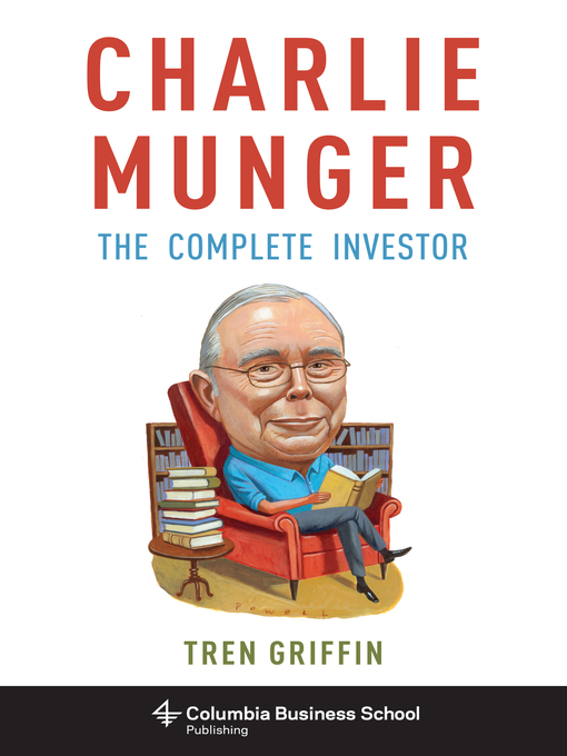 Title details for Charlie Munger by Tren Griffin - Available