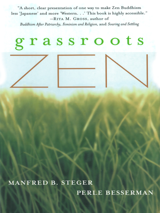 Title details for Grassroots Zen by Perle Besserman - Available