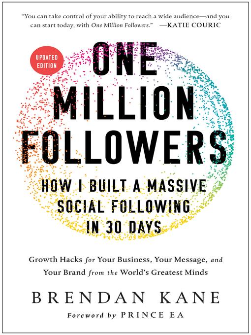 Title details for One Million Followers by Brendan Kane - Wait list