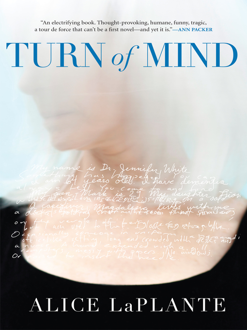Title details for Turn of Mind by Alice LaPlante - Available