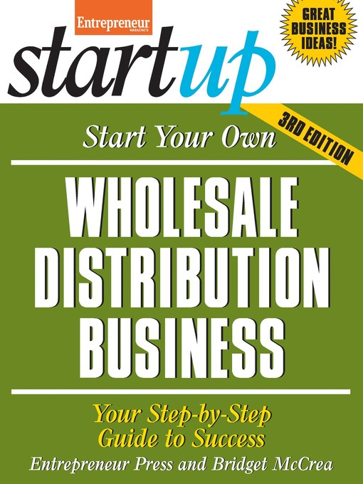 Title details for Start Your Own Wholesale Distribution Business by Bridget McCrea - Available