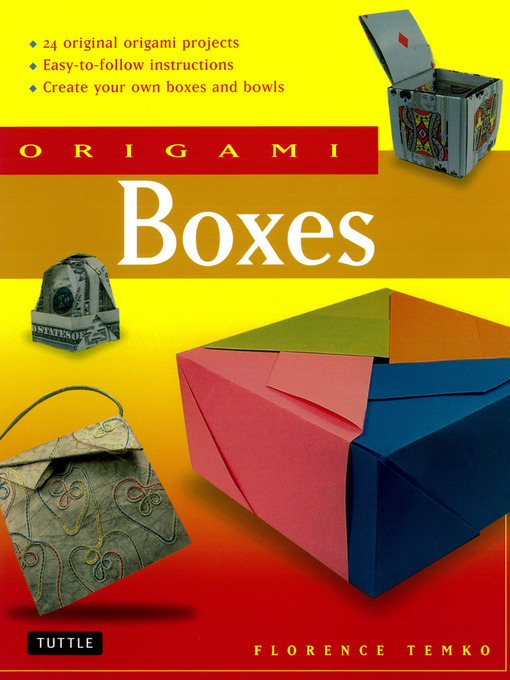 Title details for Origami Boxes by Florence Temko - Available