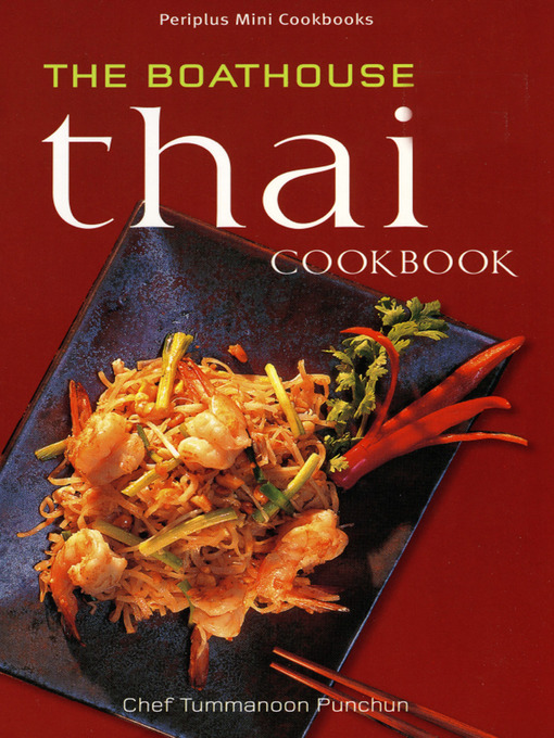 Mini The Boathouse Thai Cookbook National Library Board Singapore