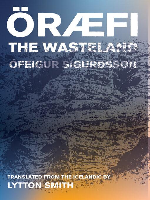 Title details for Oraefi by Ófeigur Sigurðsson - Available