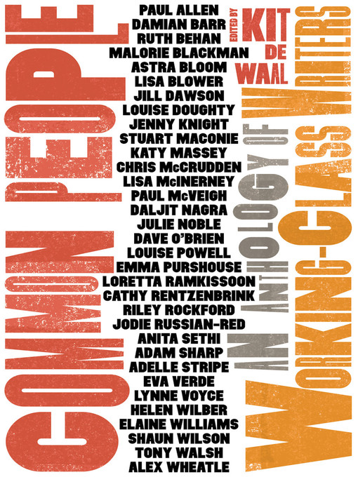 Title details for Common People by Kit de Waal - Wait list