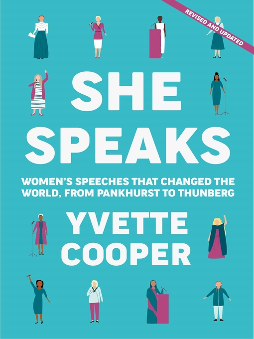 Title details for She Speaks by Yvette Cooper - Available