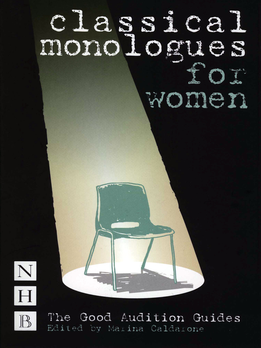 Title details for Classical Monologues for Women by Marina Calderone - Available