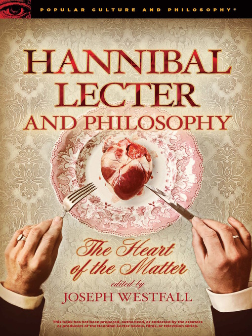 """essays on hannibal lector Sample essays about us contact us what personality disorder does hannibal lecter have hannibal lector, clarise starling, and """"buffalo bob."""