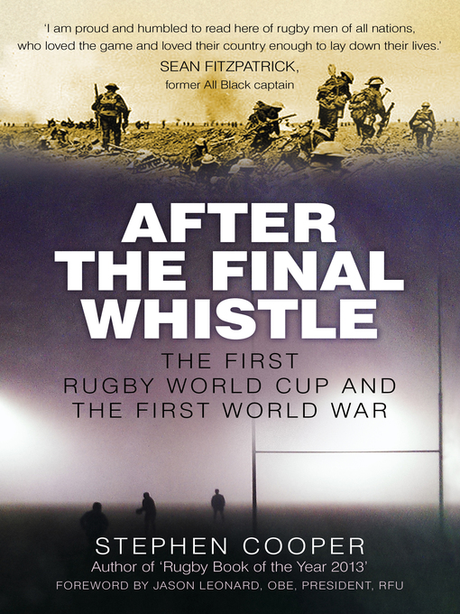 Title details for After the Final Whistle by Stephen Cooper - Available