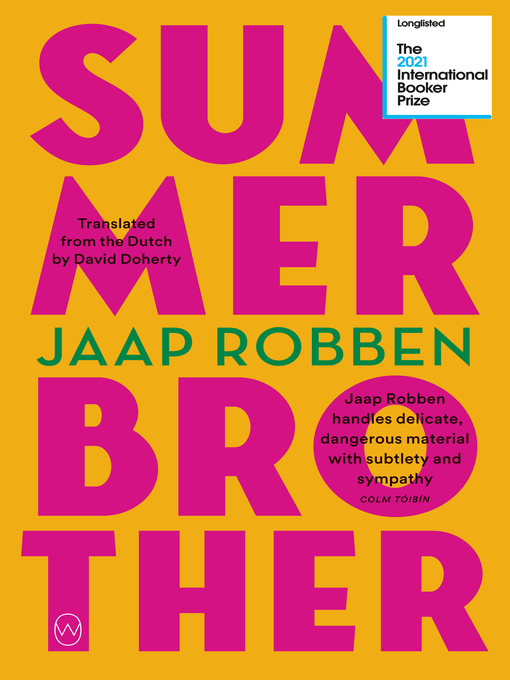 Title details for Summer Brother by Jaap Robben - Available