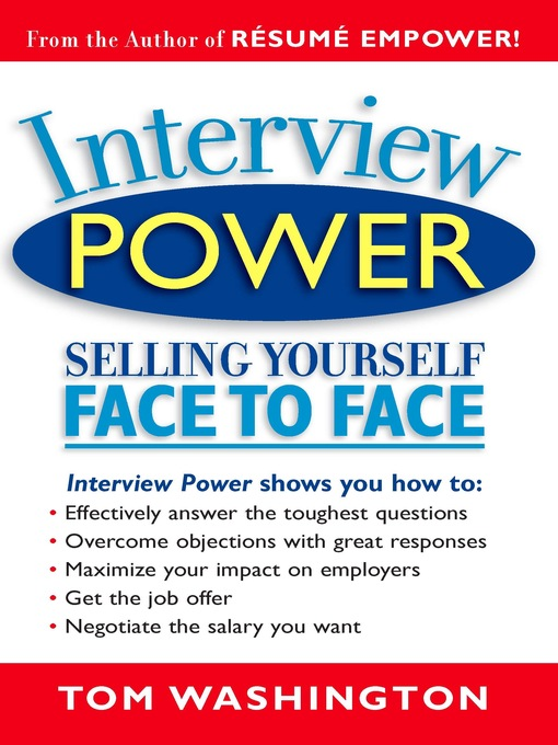 Title details for Interview Power by Tom Washington - Available