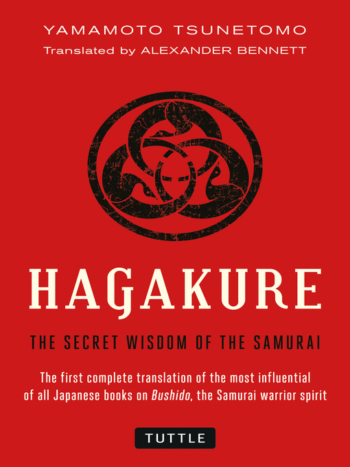 Title details for Hagakure by Yamamoto Tsunetomo - Available