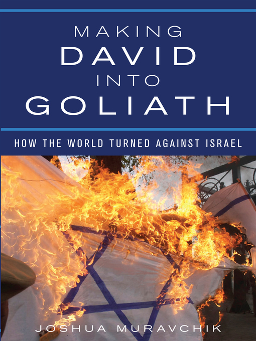 Cover of Making David into Goliath