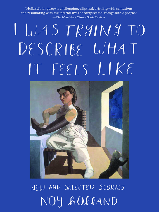 Title details for I Was Trying to Describe What it Feels Like by Noy Holland - Available