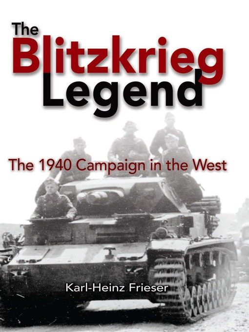 Cover of The Blitzkrieg Legend