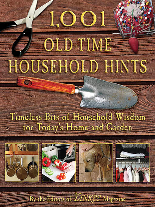 Cover of 1,001 Old-Time Household Hints