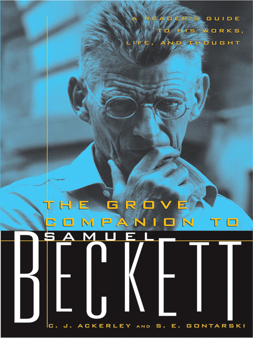 a biography of the life and literary careers of samuel beckett