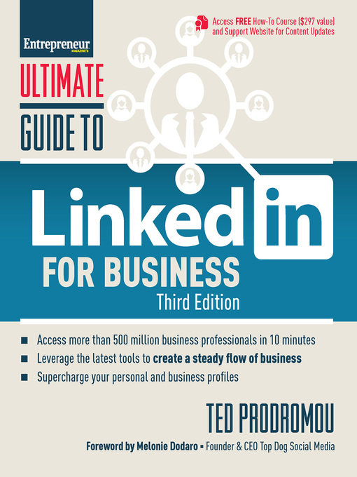 Title details for Ultimate Guide to LinkedIn for Business by Ted Prodromou - Wait list