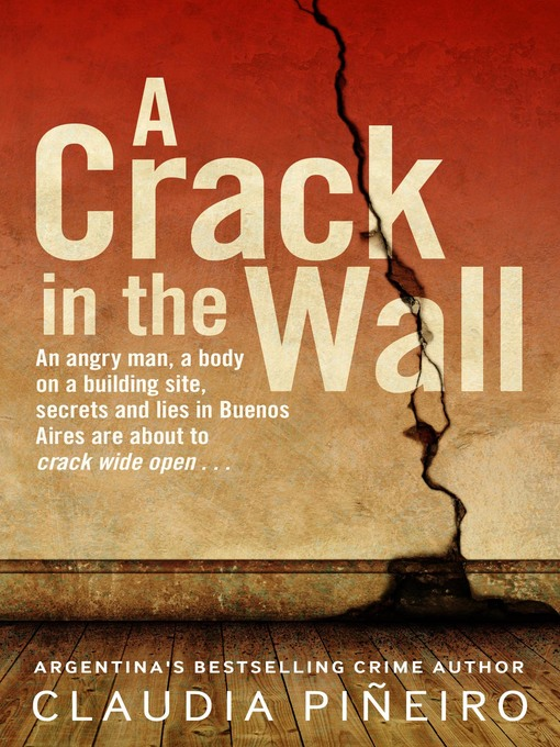 Title details for A Crack in the Wall by Claudia Piñeiro - Available