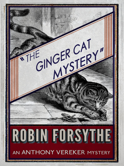 Title details for The Ginger Cat Mystery by Robin Forsythe - Available