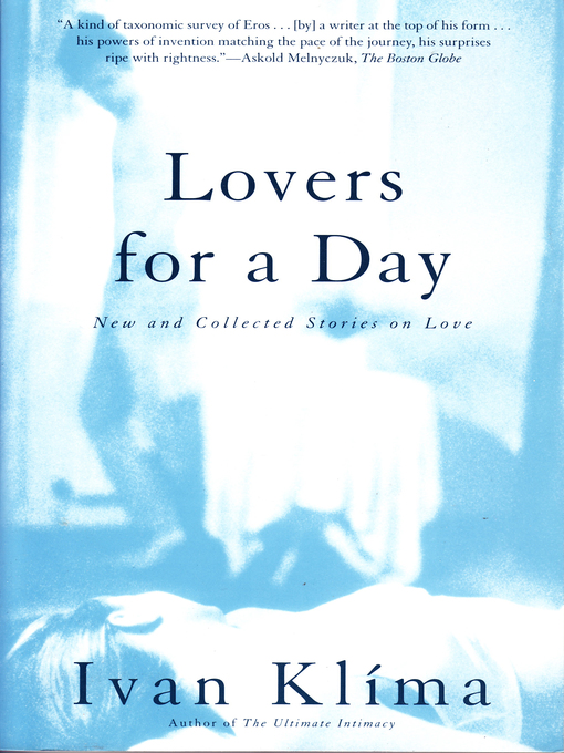an analysis of the klima in love and garbage a novel by ivan klima