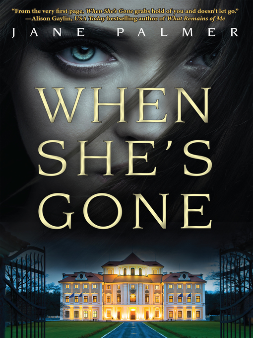 Title details for When She's Gone by Jane Palmer - Wait list