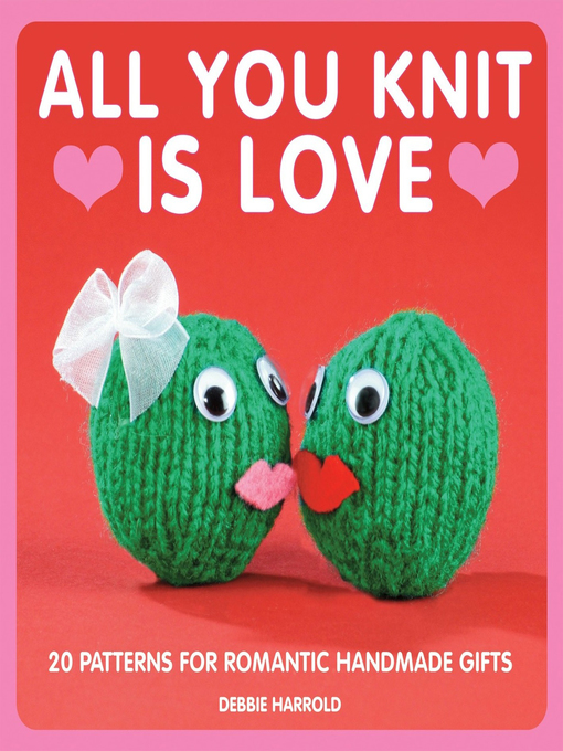 Cover of All You Knit is Love