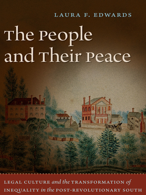 Cover of The People and Their Peace