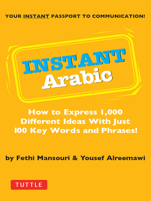 Title details for Instant Arabic by Fethi Mansouri, Dr. - Available
