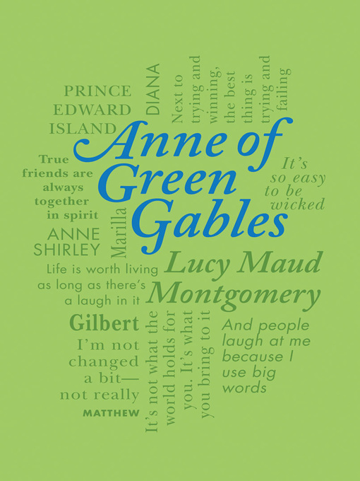 Title details for Anne of Green Gables by Lucy Montgomery - Available