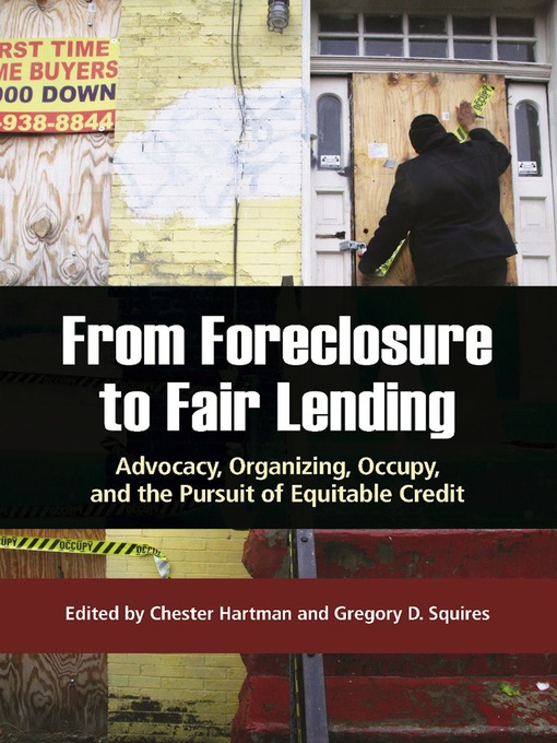 Title details for From Foreclosure to Fair Lending by Chester Hartman - Available