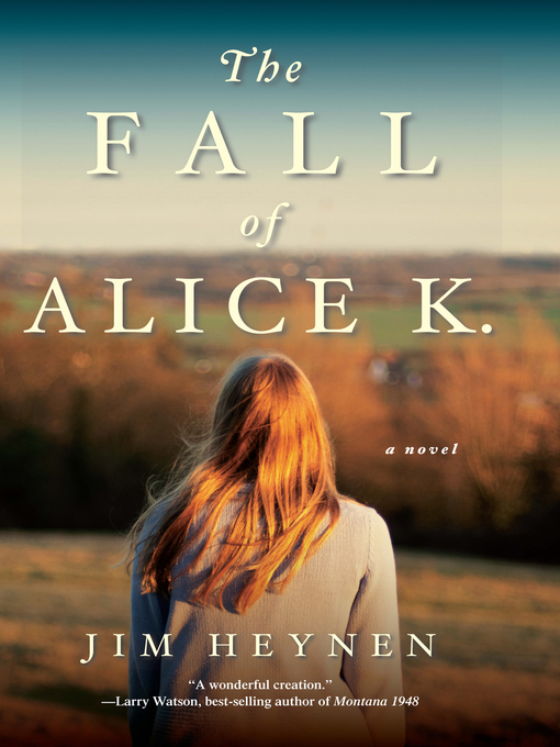 Cover of The Fall of Alice K.