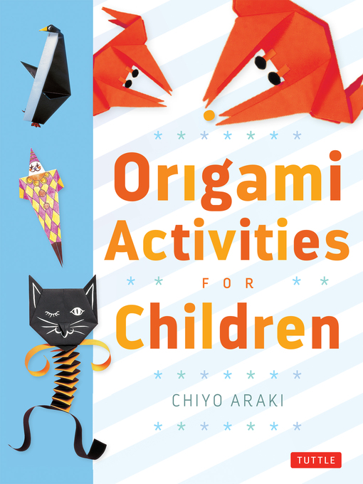 Cover of Origami Activities for Children